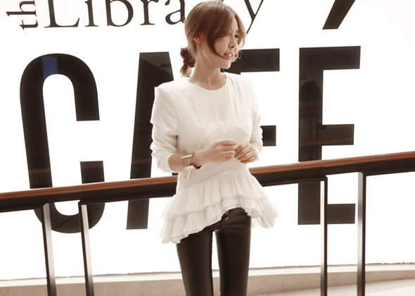 piano blouse (ivory)