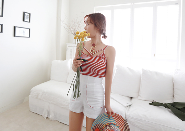 boy stripe sleeveless