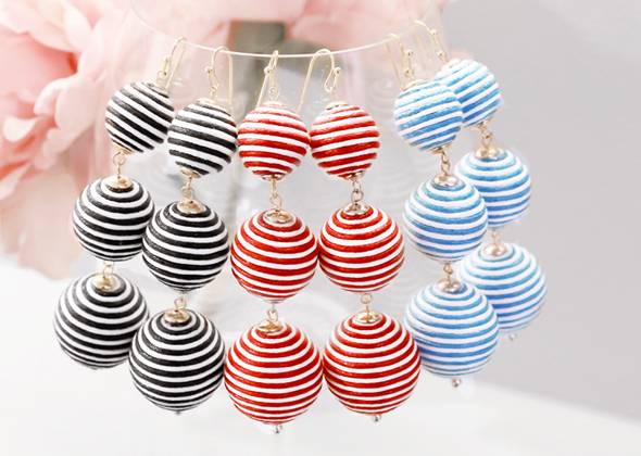 candy ball earing