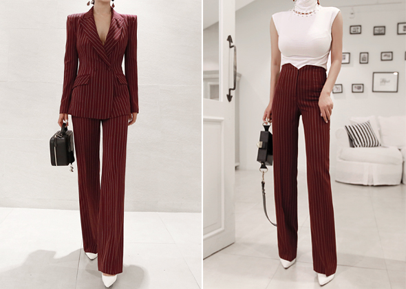 palette pants (wine)