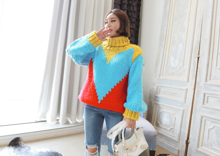 mango mix knit