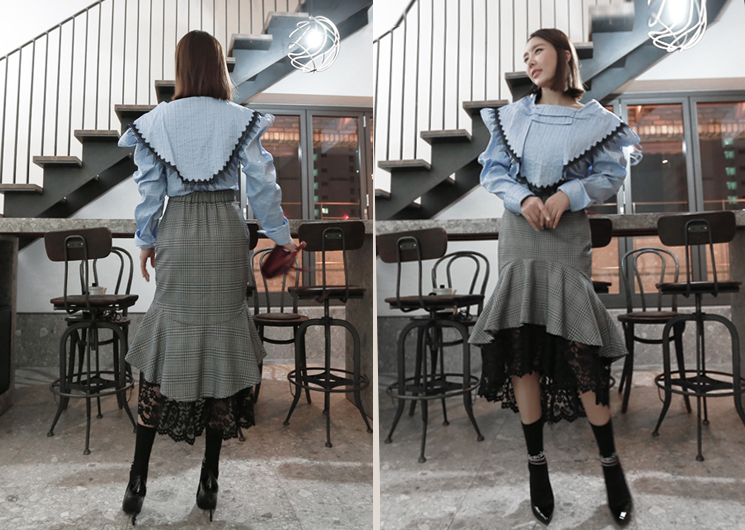 queen wing blouse