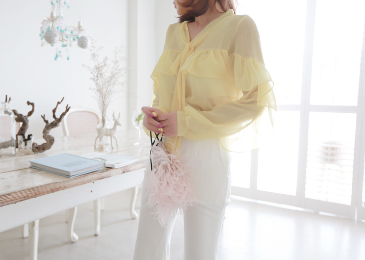 clare blouse