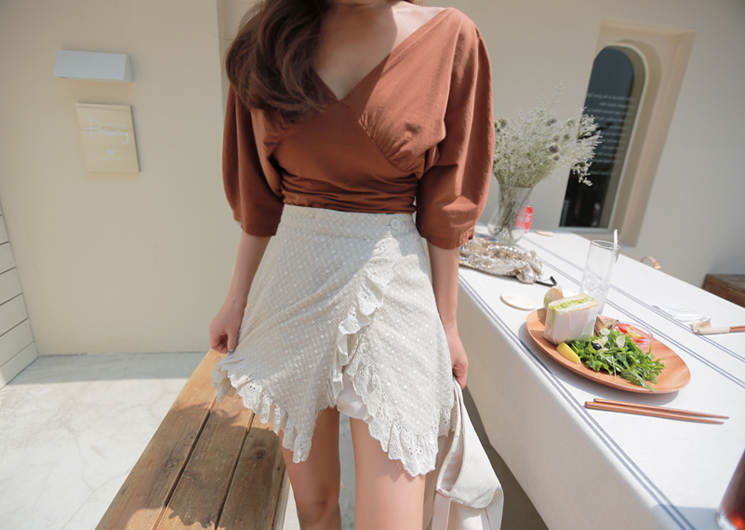 mood frill skirt