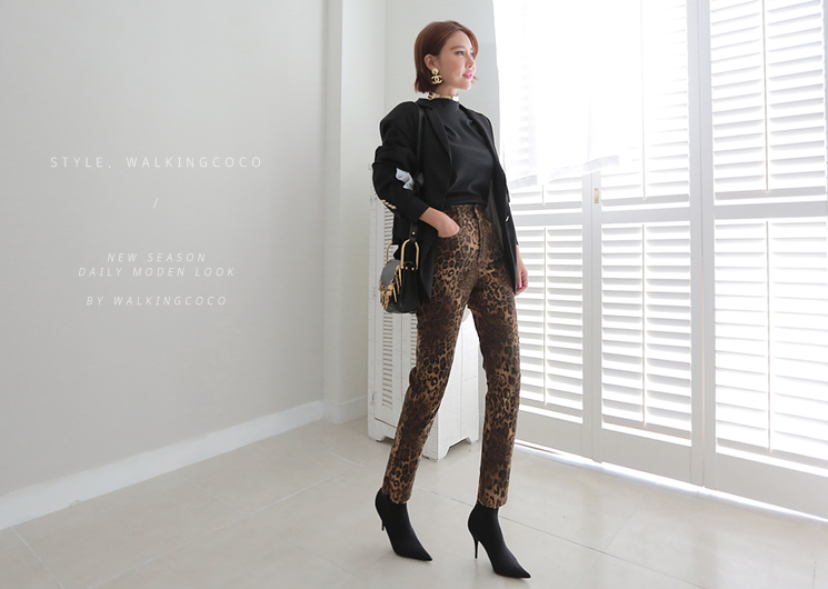 force leopard pants