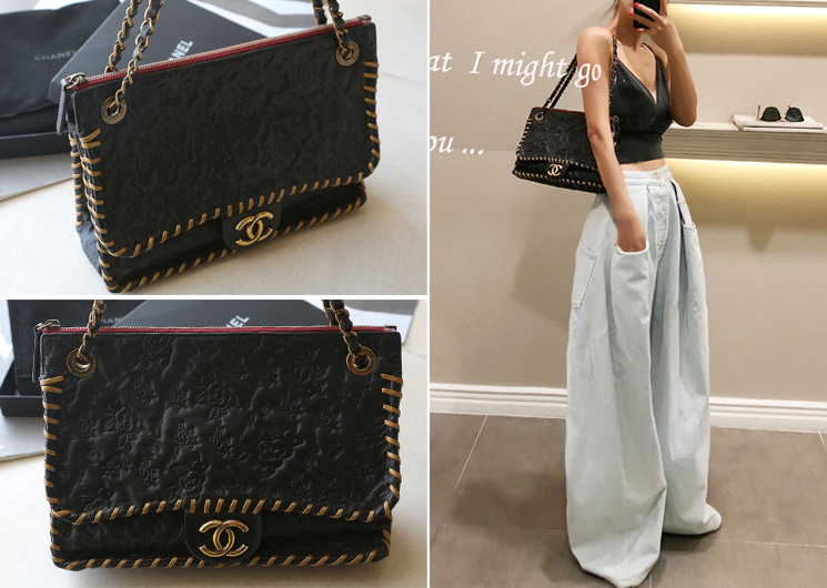 walking flea market-chanel chain bag