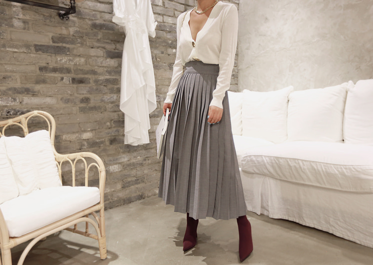 bruno skirt (gray)