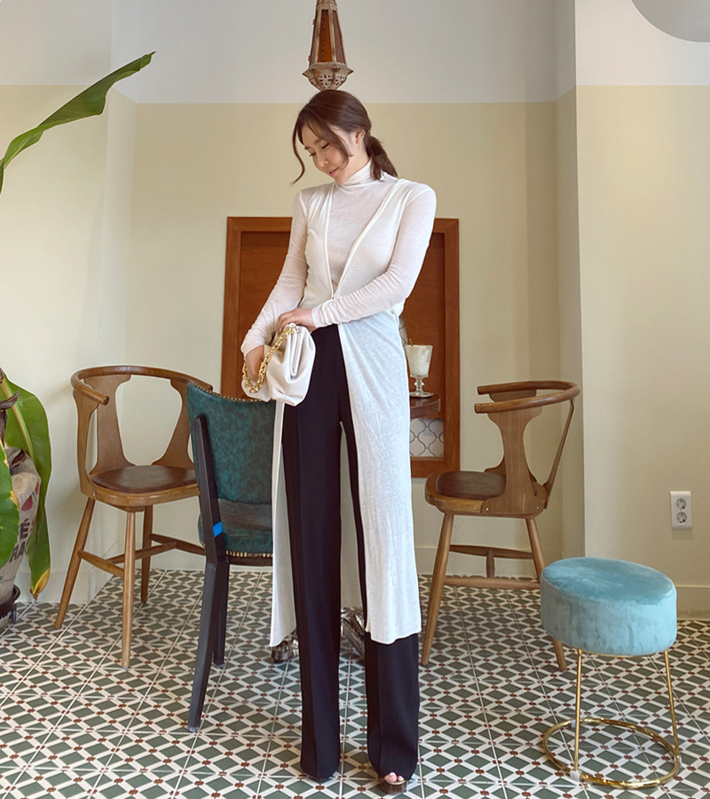 [SALE] time long cardigan (ivory)