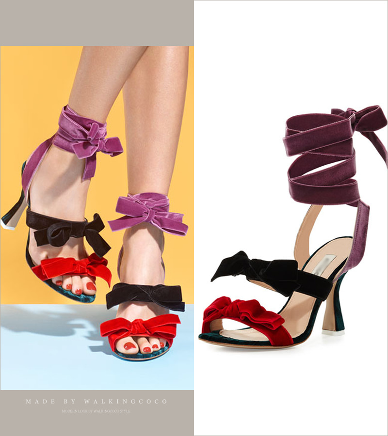walking ribbon heel