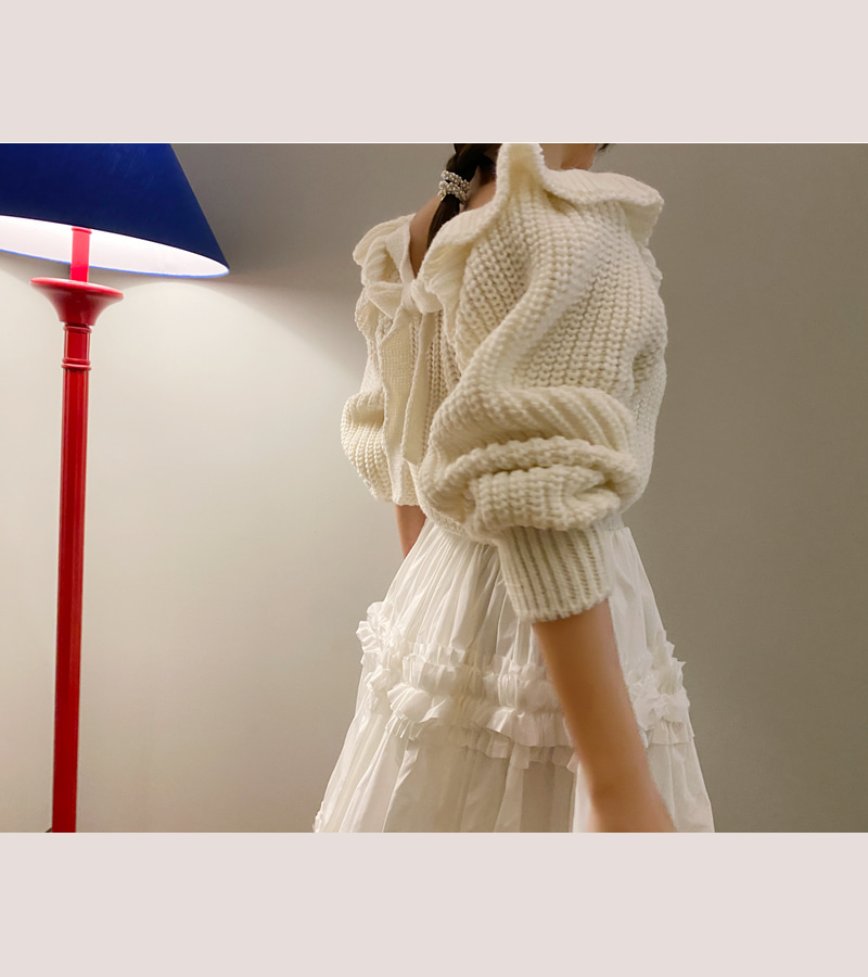 from frill knit