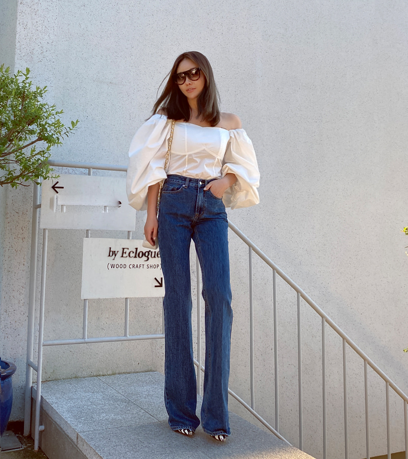 terrace denim pants