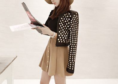 retro stud jacket