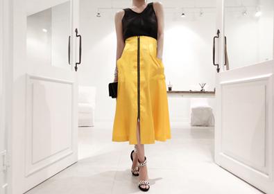 muse skirt (yellow)