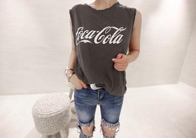 coke sleeveless