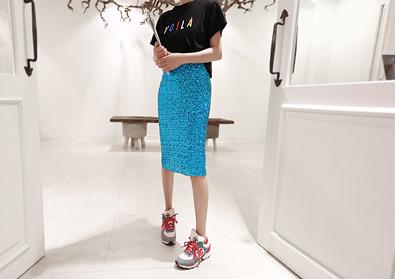 remember skirt (blue)