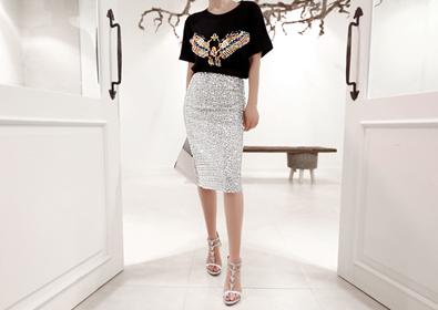 remember skirt (silver)