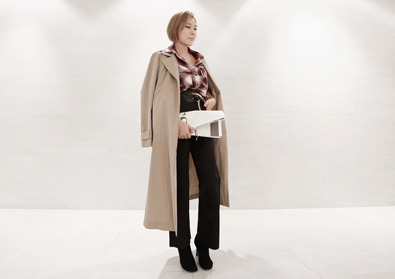 japonica trench coat